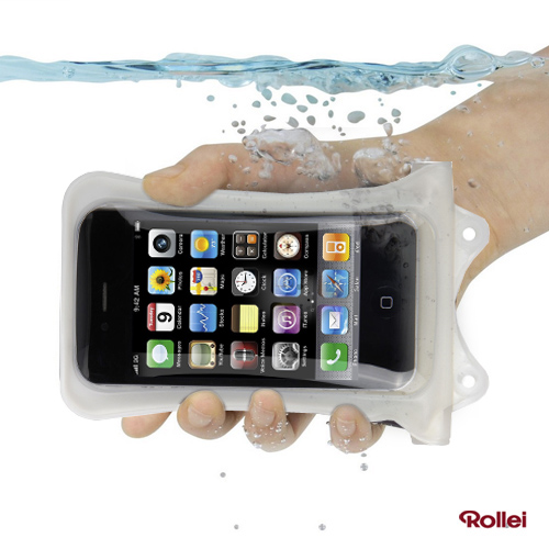 Rollei WP-i 10 - iPhone 4 / 4S vízálló tok - fehér