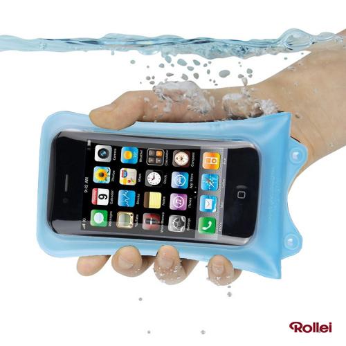 Rollei WP-i 10 - iPhone 4 / 4S vízálló tok - kék