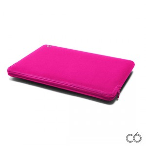 "C6 Neoprene Zip Sleeve - MacBook Air 11"" belecsúsztatós tok - pink"