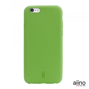 Aiino B-Ball Case - iPhone 6 / 6S bőrtok - zöld