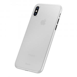 Baseus Ultra Thin 0.4mm - iPhone XS / X ultravékony tok - áttetsző