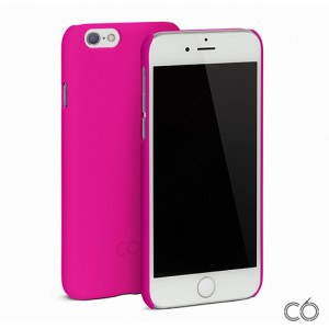 C6 Hard Case - iPhone 6 / 6S matt tok - hotpink