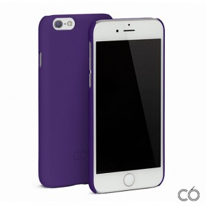 C6 Hard Case - iPhone 6 / 6S matt tok - lila