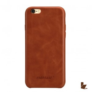 Jisoncase Slim Leather - iPhone 6  Plus/ 6S Plus bőrtok - barna