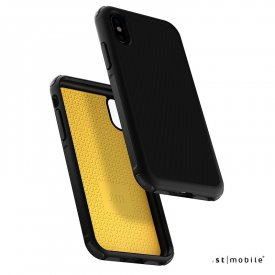 Just Mobile Quattro Air - iPhone XS / X tok - fekete