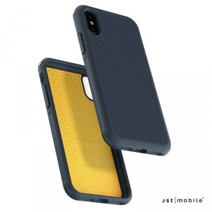 Just Mobile Quattro Air - iPhone XS / X tok - kék