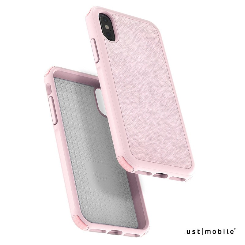 Just Mobile Quattro Air - iPhone XS / X tok - pink