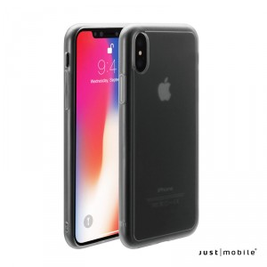 Just Mobile Tenc - iPhone X  tok - áttetsző / matt