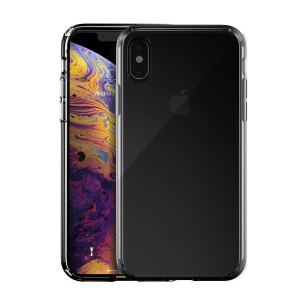 Just Mobile Tenc Air - iPhone XS Max tok - fekete / fényes