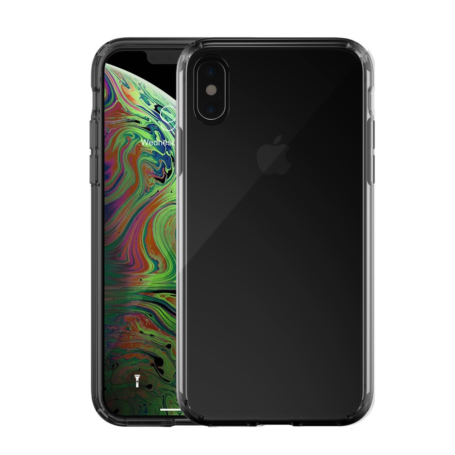 Just Mobile Tenc Air - iPhone XS / X tok - fekete / fényes