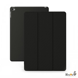 Khomo Carbon - iPad Air 2 karbon tok - fekete
