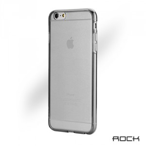 Rock Ultra Thin 0.6mm - iPhone 6 Plus / 6S Plus szilikon tok - szürke / átlátszó