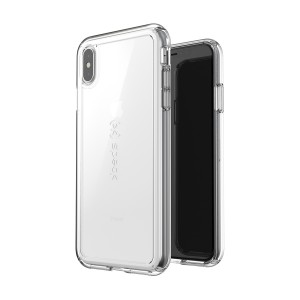 Speck GemShell Clear - iPhone XS / X tok - áttetsző