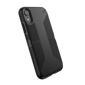 Speck Presidio Grip - iPhone XR tok - fekete