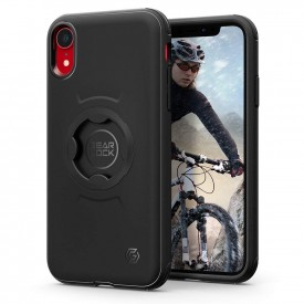 Spigen Gearlock CF102 Bike Mount - iPhone XR biciklis tok - fekete
