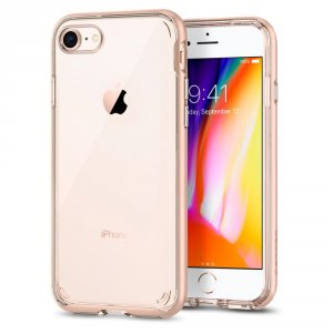 Spigen Neo Hybrid Crystal 2 - iPhone 8 / iPhone 7 tok - blush gold