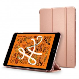 Spigen Smart Fold Case - iPad mini 5 (2019) tok - rozéarany