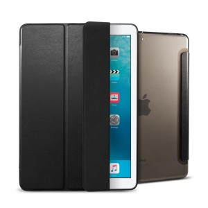 "Spigen Smart Fold Case - iPad 9.7"" (2018 / 2017) / iPad Air tok - fekete"