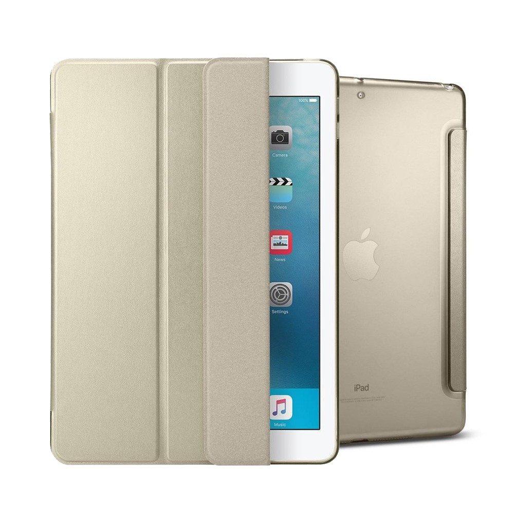 "Spigen Smart Fold Case - iPad 9.7"" (2018 / 2017) tok - arany"