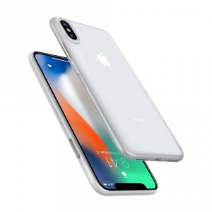 Spigen Air Skin 0.4 mm - iPhone XS / X ultravékony tok - áttetsző