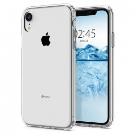 Spigen Liquid Crystal - iPhone XR szilikon tok - átlátszó