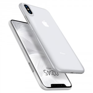 Spigen Air Skin 0.4 mm - iPhone XS Max ultravékony tok - áttetsző