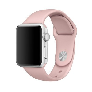 Tech-Pro Smooth Band - Apple Watch 38mm sportszíj - pink