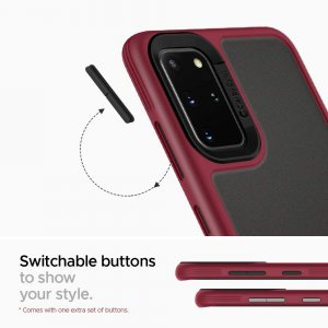 Spigen Ciel Color Brick - Samsung Galaxy S20+ Plus tok - burgundy