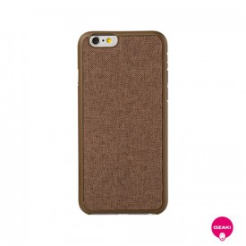 Ozaki O!coat 0.3 +Canvas - iPhone 6 / 6S tok - barna