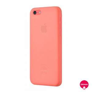 Ozaki O!coat 0.3 Jelly - iPhone 5C tok - piros