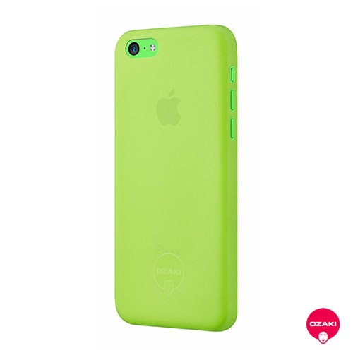 Ozaki O!coat 0.3 Jelly - iPhone 5C tok - zöld