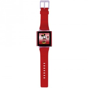 Ozaki iCoat Watch for Her - iPod Nano 6 karóra szíj - piros